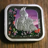 """Australian """"Four Seasons collection-Spring"""" Square Silver Dollar, 1oz. .999 Silver, 2013,  Bessemer City, 28016"""