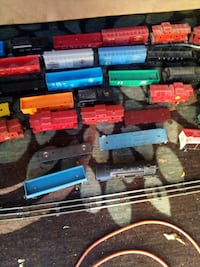 Vintage Lionel and Marx train cars Grand Junction, 81503