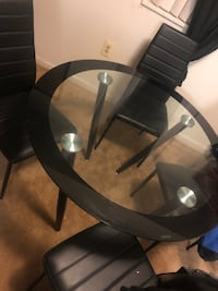 Dining table and chairs  55 mi