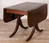 Duncan phyfe style drop leaf antique table  Bethany, 73008