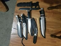 Collector knives ask for individual prices Calgary, T3A 2E6