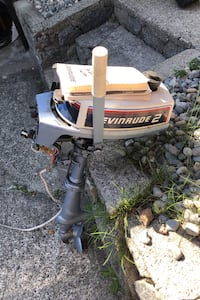 Evinrude 2 hp outboard for sale