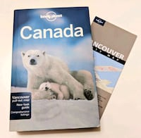 Canada Lonely Planet travel guidebook Vancouver, V6A 2W5