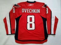 alex ovechkin mint condition hockey jersey  Hamilton, L8N 1X2