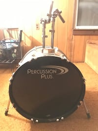 Percussion plus full drum kit