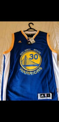 blue and yellow Golden State Warriors jersey Mississauga, L5B 4C1
