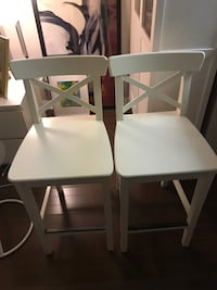 Two IKEA high chairs  Toronto, M2N