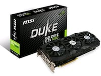 New MSI Gaming GeForce GTX 1080 8GB GDDR5X Herndon, 20171