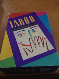 Taboo Game -- 12 to Adult -- Good Condition -- Comes from smoke free home. Cash only please. Schaumburg, 60193