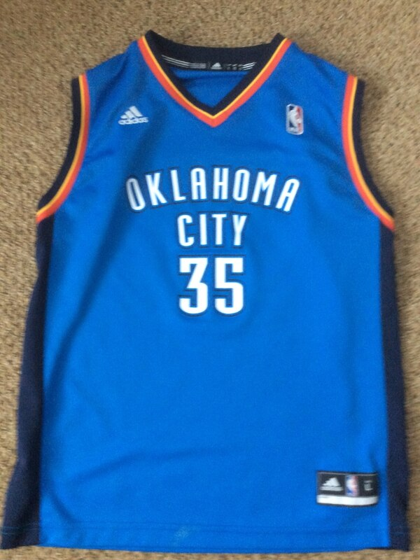 online store d9495 9aac2 Kevin durant OKC jersey