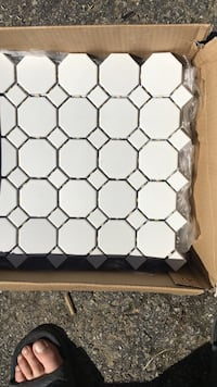 9 sheets of mosaic tile 12 by 12