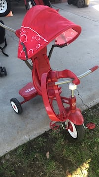 toddler's red Radio Flyer trike San Diego, 92126