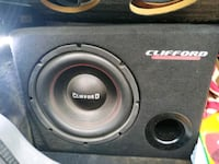 Clifford subwoofer ve amfi