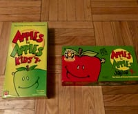 Apples to apples game New York, 10021
