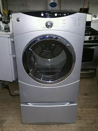 white Whirlpool front-load clothes dryer New Brunswick, 08906