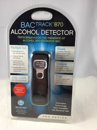 Alcohol Detector, BacTrack B70 Pro Series, Tests breath