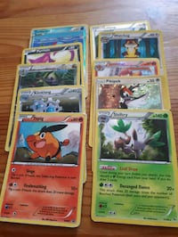 100 Pokemon cards.  Whitby, L1P 1A1