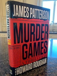 MURDER GAMES HARDCOVER by: JAMES PATTERSON & HOWARD ROUGHAN (Brand New) Calgary, T3H 3C7