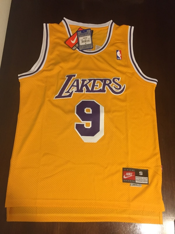 d7f21cd75d0 Used New Nick Van Exel Los Angeles Lakers Vintage Rare Jersey Mens Small  Medium Large for sale in Los Angeles - letgo