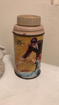1969 king-seeley thermos co baseball thermos