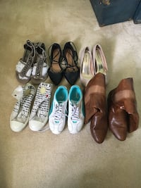 Women's shoe lot  Calgary, T2G 0R5