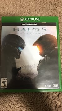 Halo 5 xbox one game case