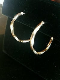 Yello gold hoops twisted style Phoenix, 85051