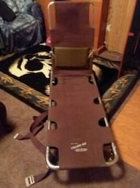 Vintage stretcher in metal case Steuben County