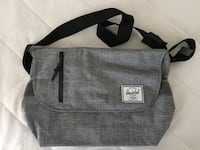 HERSCHELL Odell Messenger Bag - used twice only  Richmond, V6X 3S4