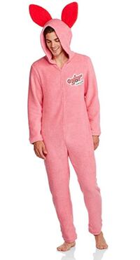 Christmas Story pink bunny suit !!from movie Tyler, 75702