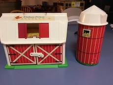 Antique fisher price set