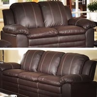 New In Box- 2 Pc Sofa and Loveseat  Houston, 77077