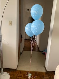 It's a boy balloons+15 normal blie balloons