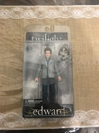 Twilight Edward Doll Figure 2008 NECA Reel Toys NEW New York, 10040