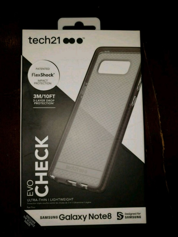 detailed look 82aff 15079 Tech21 evo check case galaxy note 8