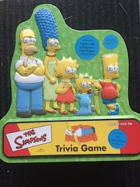 Simpson's trivia game  Whitby, L1N