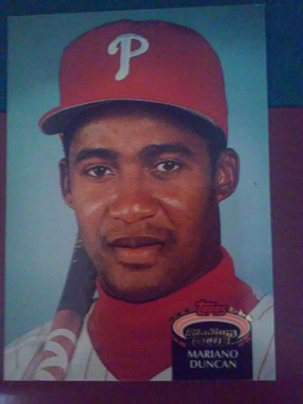 Used Mariano Duncan Baseball Collectible Card For Sale In Rochester