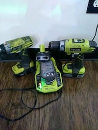 Ryobi cordless hand drill and impact wrench Pooler, 31322