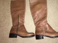 Vince Camuto size 7 leather boots Falls Church, 22044