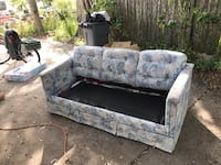 Gray and brown floral 2-seat sofa Kissimmee, 34746