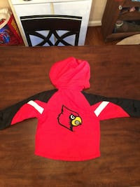 Nice Kids NCAA 4T UofL Cardinals Removable Hooded Coat Louisville, 40220