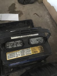 black car battery Calgary, T3J 2Y5