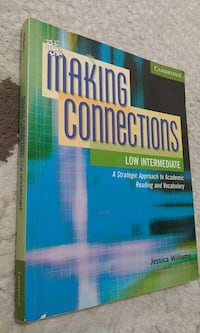 Making connections low intermediate reading and vocabulary