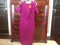 Women's purply pink dress. Lincoln, L0R