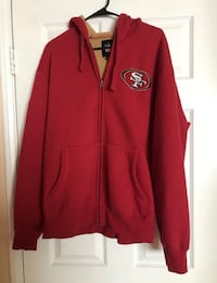 49ers Red Sweater Size Large  Palmdale, 93552
