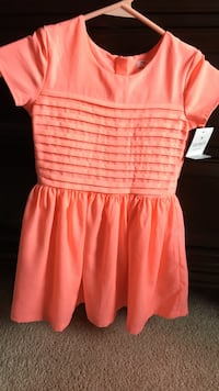 Toddler girls size 4 carters coral dress NWT Baltimore, 21221