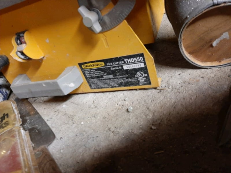 7 Inch Wet Tile Saw  1