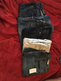 5 pair jeggings size 11