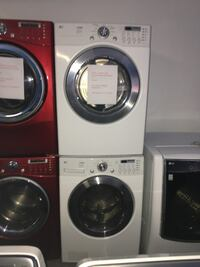 LG front load washer and dryer set in excellent condition