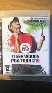 Sony PS3 Tiger Woods PGA Tour 10 game case